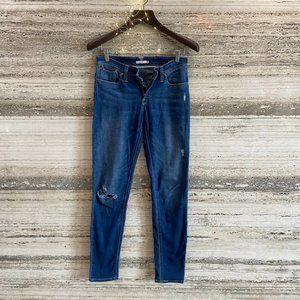 Levi's 711 Skinny Jeans Blue Size 28
